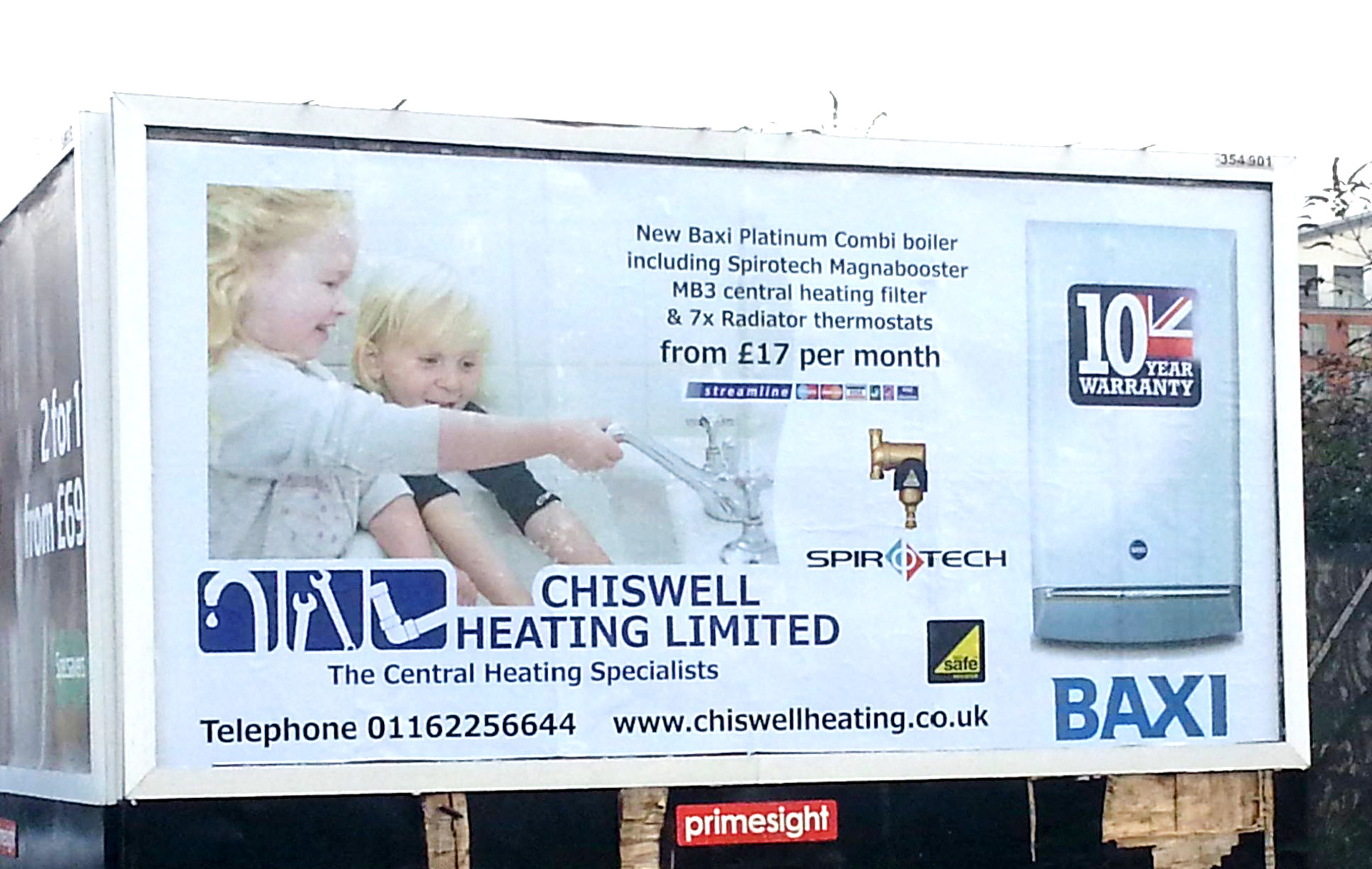 Chiswell Heating Billboard 2